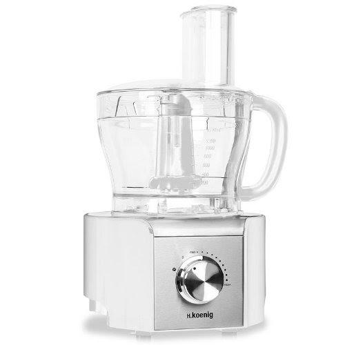 Barato h koenig mx 18 robot de cocina procesador de alimentos 800w baso de cristal 1 5l 8 - Robot de cocina la razon ...