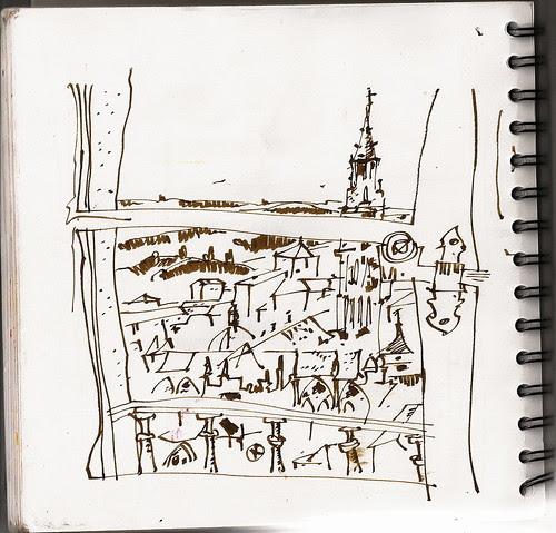 Desde la torre, Toledo