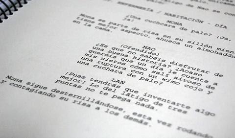 Taller de escritura de guión de cine