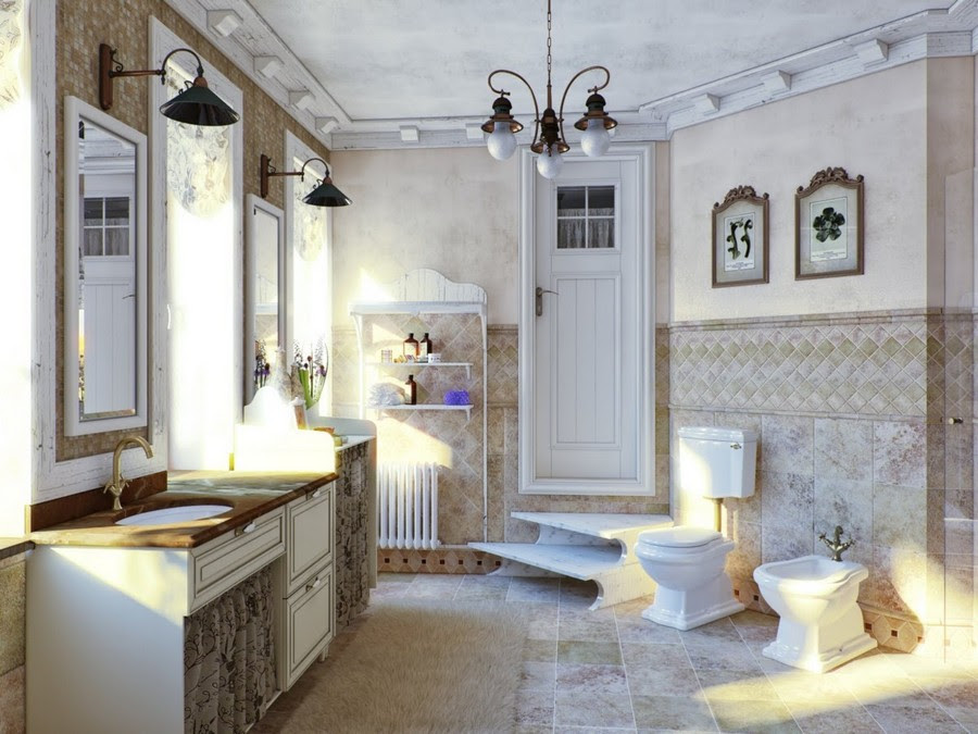 How To Design A Bathroom In French Style From A To Z Home Interior