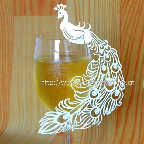 Craft supplies wedding ideas peacock themed products