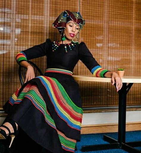 Zandi Siyongwana In Beautiful Black Modern Xhosa Umbhaco