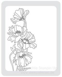 Stampin Up Praegefolder Gartenblumen www.stempelmami.de