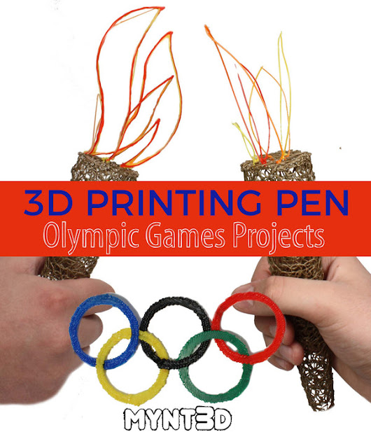 3D Pen Olympics Themed Projects