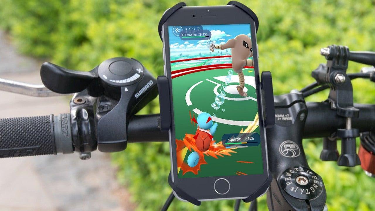 Znalezione obrazy dla zapytania bike pokemon go