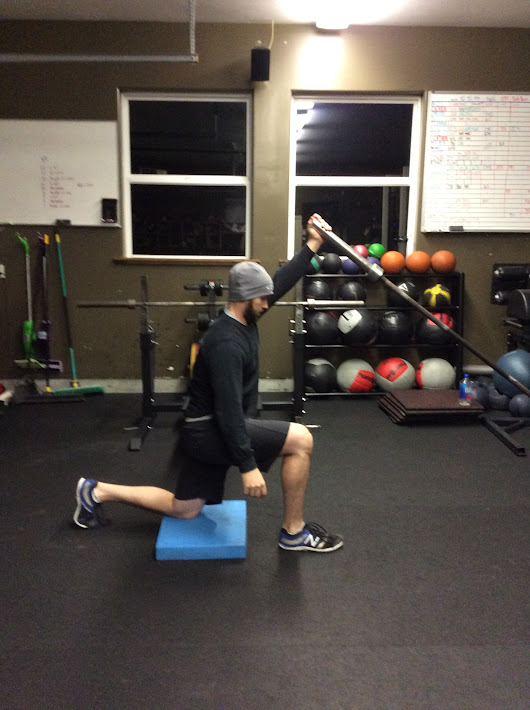 Exercise of the Week: The Landmine Press