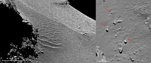 Here's Something We Never Thought We'd See on a Comet: Shifting Dunes - Universe Today
