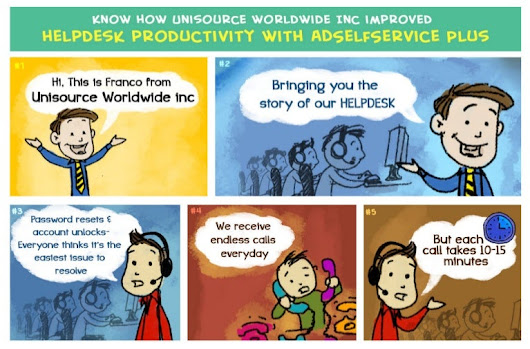 Unisource Worldwide Inc. improved helpdesk productivity with passwo...