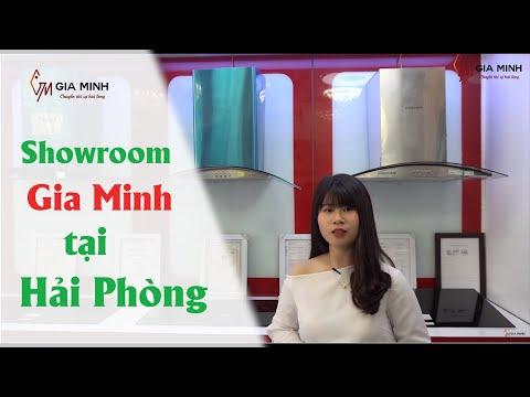 Khám phá showroom thiết bị nhà bếp đang HOT nhất Hải Phòng - Gia Minh Group