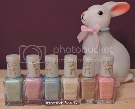 Barry M Silk Nail Paints