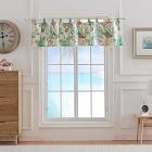 Barefoot Bungalow Atlantis Window Valance 84x19-inch Jade