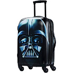 """American Tourister Star Wars Darth Vader 21"""" Hardside Carry On Suitcase"""