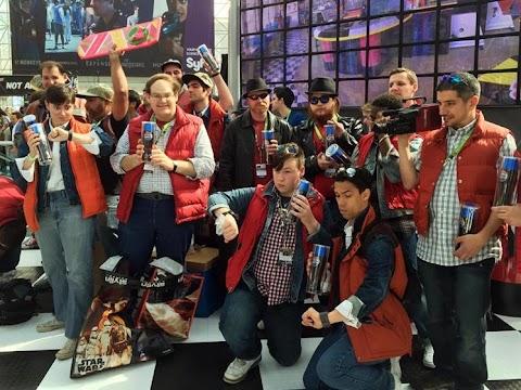Back To The Future Pepsi Comic Con