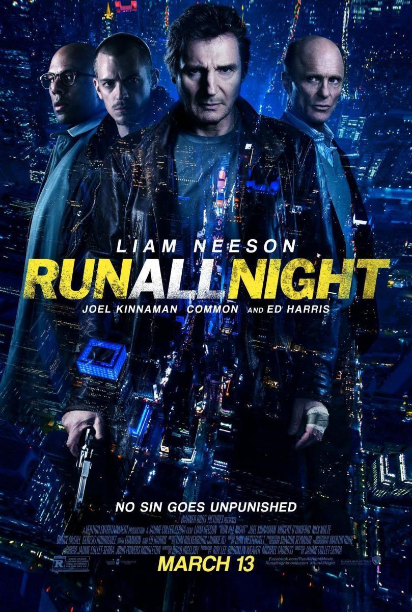 Run All Night, Una Noche para Sobrevivir, Cine, Película, Cartelera, Cartel, Blog de Cine, Solo Yo, Blog Solo Yo, Liam Neeson, Thriller, Mafia, Crimen