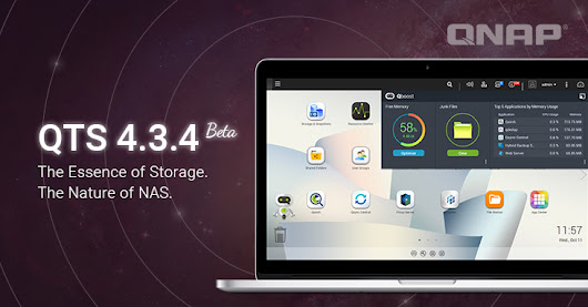QNAP Releases QTS 4.3.4 Beta, Reducing the Minimum Requirement for Snapshots to 1GB RAM, and Introducing the Brand-new Storage & Snapshots Manager