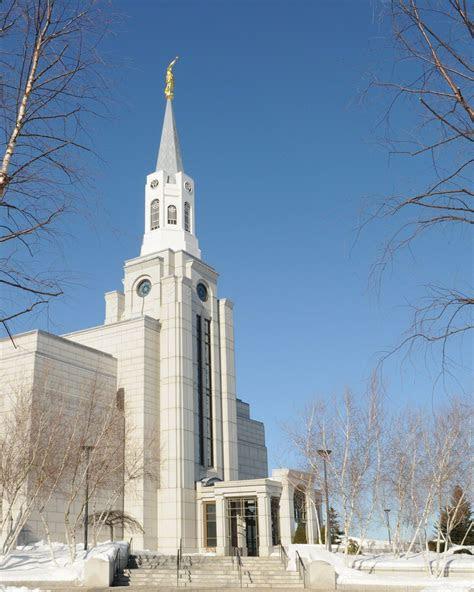 boston massachusetts temple  winter