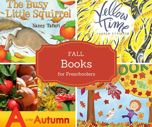 Best Books About Fall for Preschoolers
