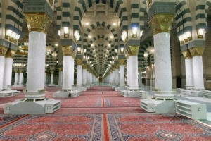 Pilar-pilar Bersejarah di Raudhah Masjid Nabawi