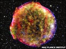 பழைய supernova ஒன்றின் பின்னால் இருந்த மர்ம முடிச்சுக்கள் நவீன தொழில்நுட்ப அறிவால் விடுவிக்கப்பட்டுள்ளன.