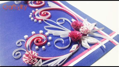 DIY Paper Quilling Cards Tutorial: How to make Paper