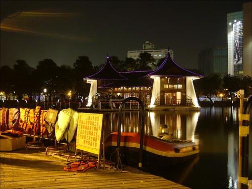 台中湖心亭百週年