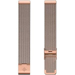 Fitbit Inspire Family Stainless Steel Fitness Tracker Mesh Band (Rose Gold Stainless Steel) - Rose Gold Stainless Steel- One Size