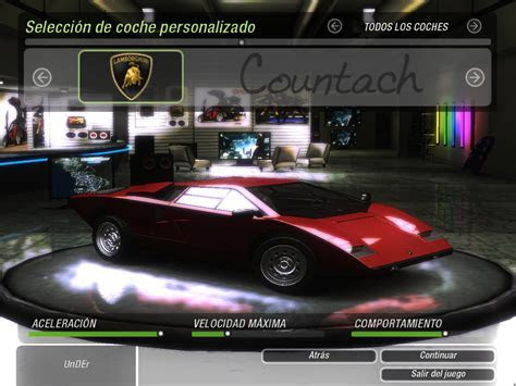 Lamborghini Countach Need For Speed. need for speed world lamborghini countach and lexus lfa