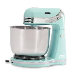 Dash Stand Mixer (electric Mixer For Everyday Use) 6 Speed Stand Mixer With 3 Qt Stainless Steel Mixing Bowl Dough Hooks & Mixer Beaters For Dressings