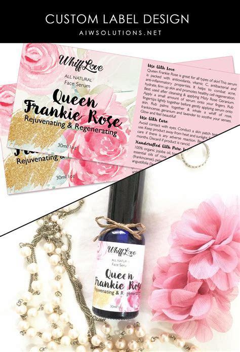 beauty product label designers, custom label design,label