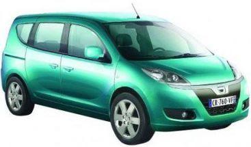 Dacia lanseaza modelul monovolum! Pretul: 11.000 de euro! Galerie FOTO!