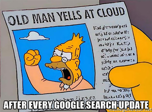 Google Updates Search Again (Maybe) SEOs Yell At Cloud