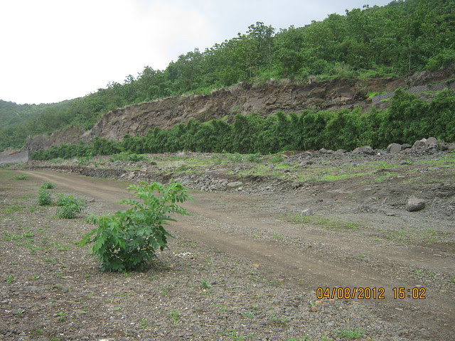 Cut, Demolished & Destroyed Hill of XRBIA Hinjewadi Pune - Nere Dattawadi, on Marunji Road, approx 7 kms from KPIT Cummins at Hinjewadi IT Park - 113