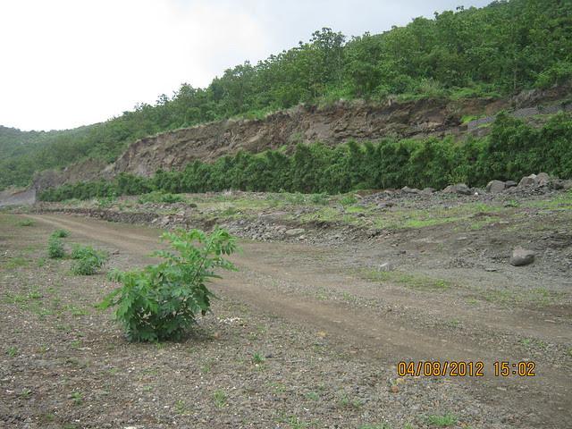 Cut, Demolished & Destroyed Hill of XRBIA Hinjewadi Pune - Nere Dattawadi, on Marunji Road, approx 7 kms from KPIT Cummins at Hinjewadi IT Park - 113