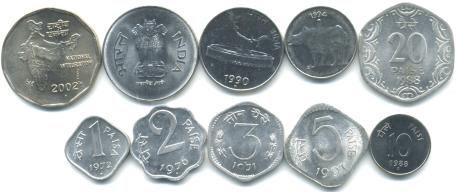 India  coin set