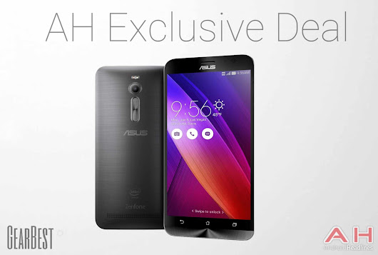 Exclusive AH GearBest Deal: Gray Asus ZenFone 2, 4GB RAM, 64-Bit Processor Only $315.89 With Code | Androidheadlines.com