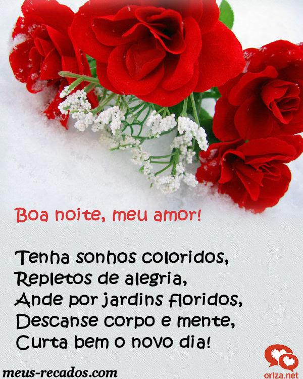 Boa Noite Meu Amor Orizanet Portal Gifs By Oriza Frases Poemas