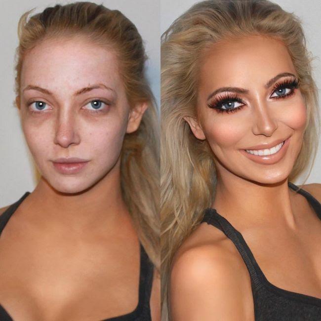 Maquillaje antes después resultados (2)