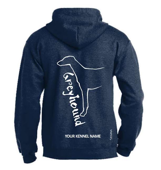 Details about Greyhound Dog Breed Hoodie, Pullover style, Exclusive Dogeria design