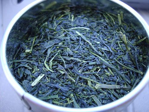 Yukata Midori Shincha leaf