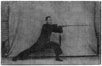 《昆吾劍譜》 李凌霄 (1935) - posture 51