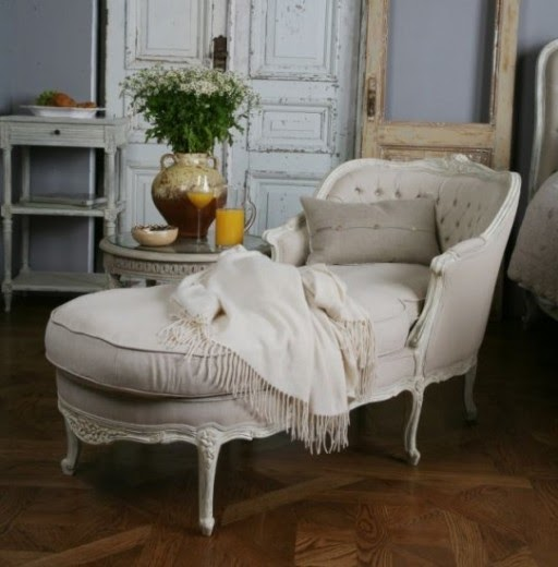 Future Domestic Goddess Wordless Wednesday The Chaise