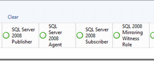 State view showing application server roles