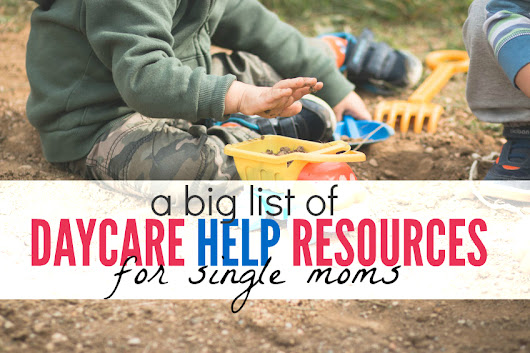 Daycare Help For Single Moms - Single Moms Income