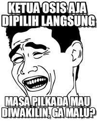 Kumpulan Foto Meme Lucu Sindir Hasil RUU Pilkada  BARISAN PEMBACA
