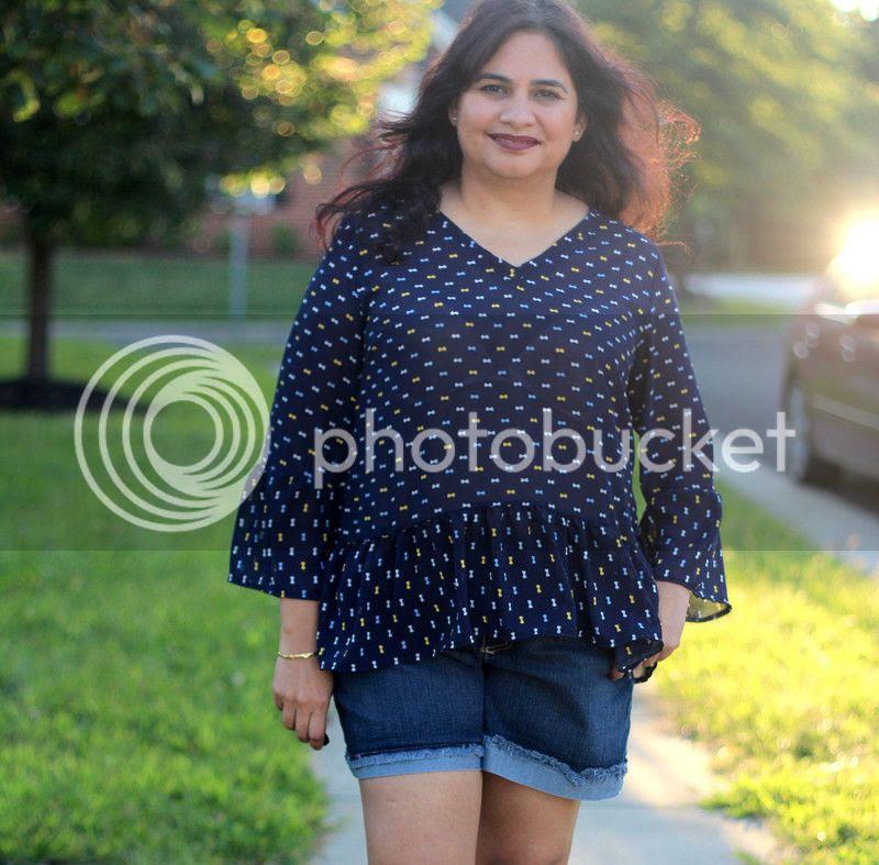 janice boho tunic wardrobe by me work top sleeves sewing pattern