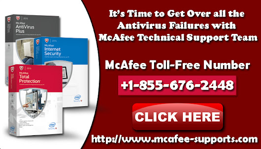 Get McAfee Technical Support Here +1-855-676-2448 | McAfee Customer Support