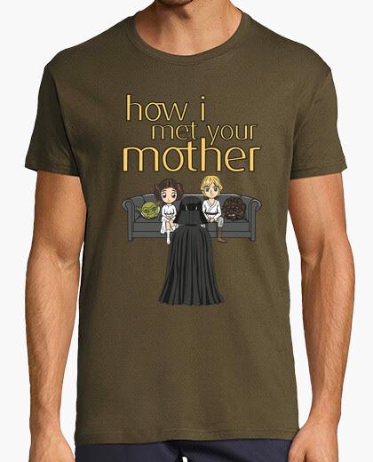 Camiseta Cómo conocí a vuestra madre-Darth Vader