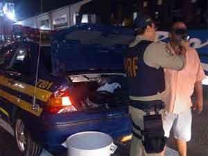 PRF fez testes nas rodovias do RN (Foto: PRF/Divulgação)