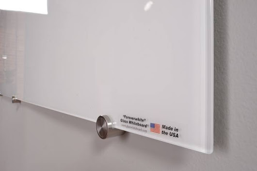 The Magnetic Glass Whiteboard | Dry Erase Board