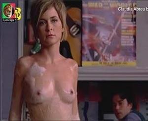 Claudia Abreu nua no filme brasileiro Os desafinados